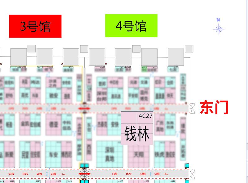 钱林,2019年深圳展会